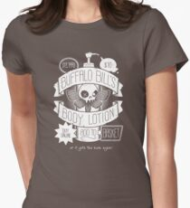 Body Lotion Womens Fitted T-Shirt