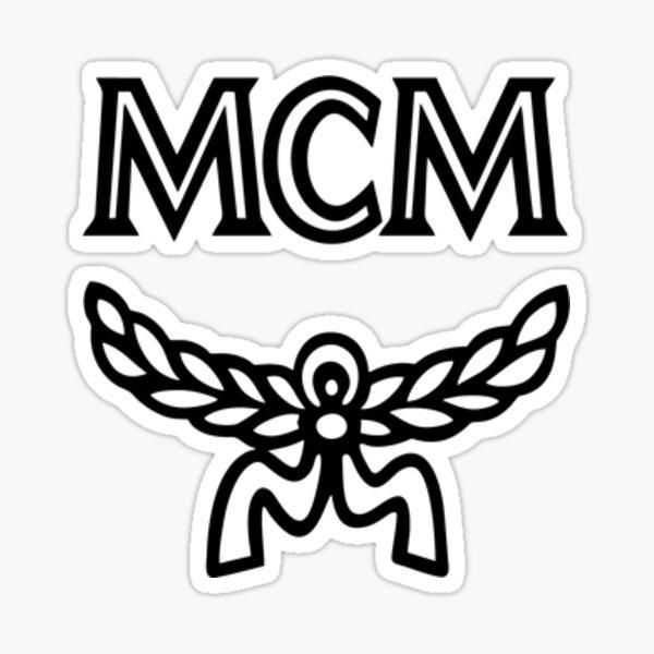 mcm logo Sticker