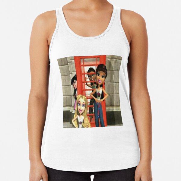 Bratz Doll Original Edition Bratz Girlz Jade Doll Red Glitter Tank Top Shirt