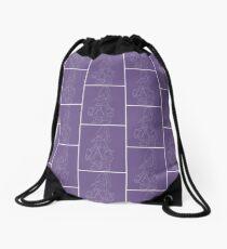 Vivi (Final Fantasy IX) (inverted, purple) Drawstring Bag