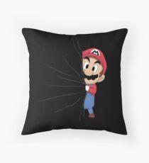 HIDDEN MARIO ! Throw Pillow