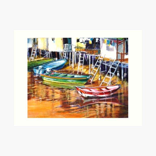 Boat series - Always ready Art Print