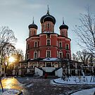 Sunrise - Donskoy Monastery, Moscow by opheliaautumn