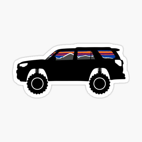 4Runner Retro Stripes Badge Toyota Vintage SR5 TRD Pro 5th Generation Sticker