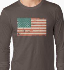 Grungy US flag T-Shirt