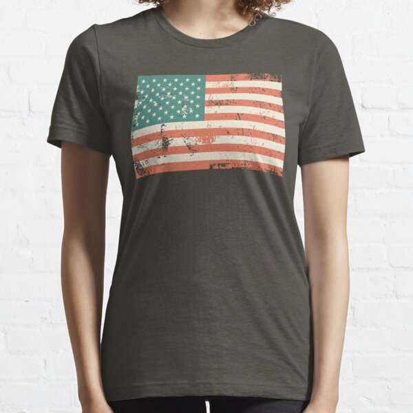 Grungy US flag Essential T-Shirt