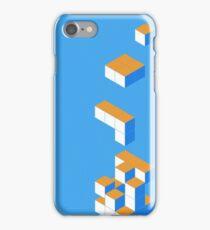 Isometric Tetris Cube iPhone Case/Skin