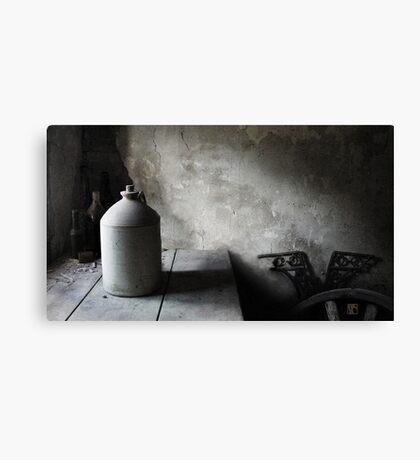 The Stone Jar Still Life Canvas Print