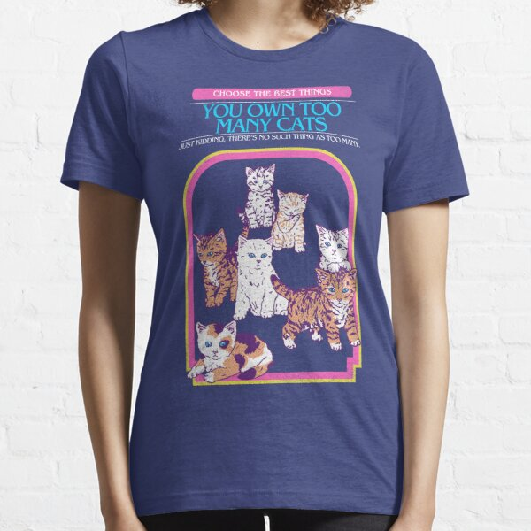 Too Many Cats Essential T-Shirt