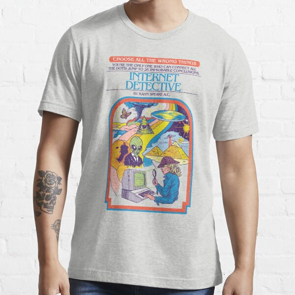 Internet Detective Essential T-Shirt