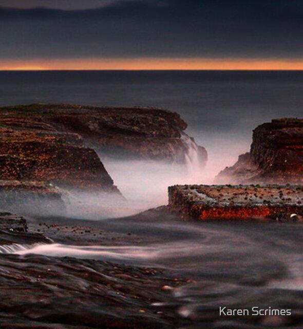North Narrabeen Dawn by Karen Scrimes