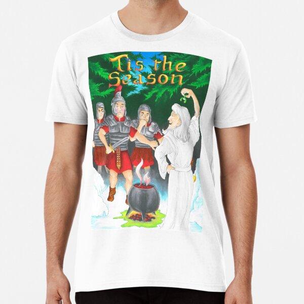 Mistletoe - Romans versus Druids Premium T-Shirt