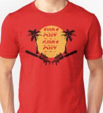 Suns Out Guns Out - H1Z1 - Cracked T-Shirt