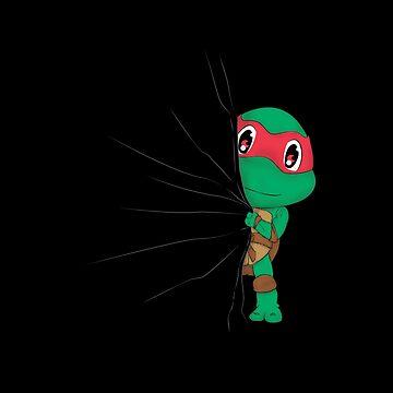 HIDDEN TMNT RAPHAEL ! by Melroune