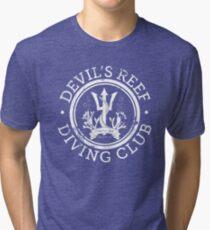 Devil's Reef Diving Club Tri-blend T-Shirt
