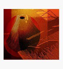 Abstract ceramic Photographic Print