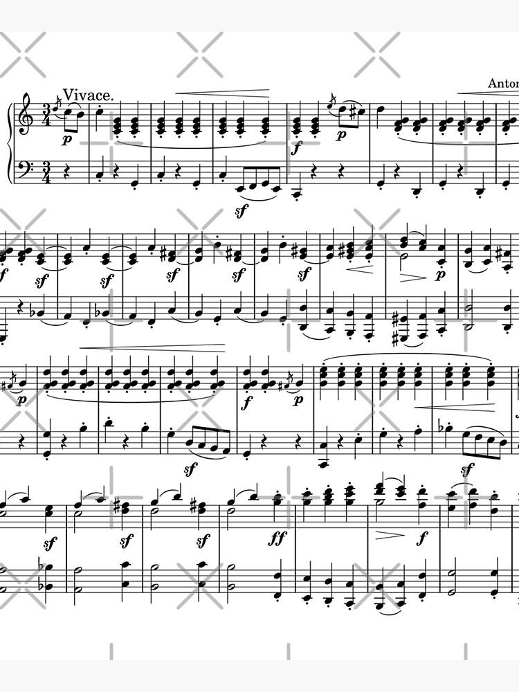 Sheet Music by FantasySkyArt