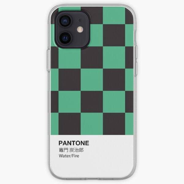 PANTONE Case Kimetsu No Yaiba Tanjiro Kamado Water/Fire Demon Slayer iPhone Soft Case