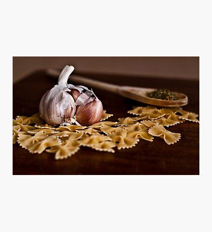 Still Life with Garlic Photographic Print