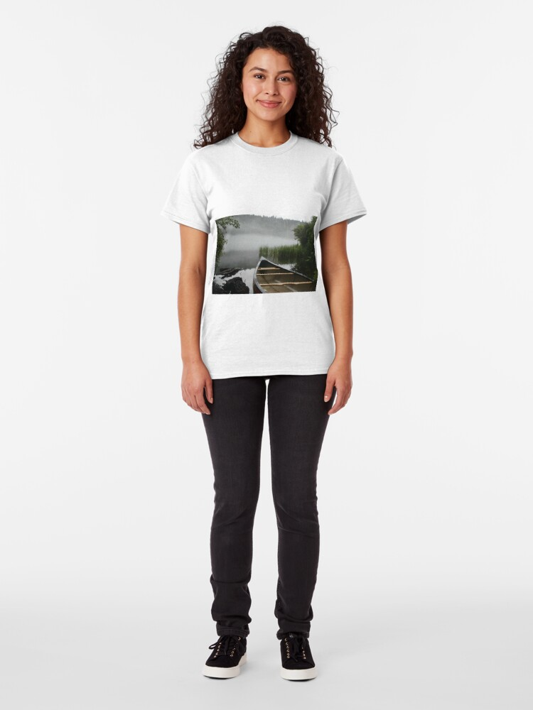 Alternate view of Safe Haven from the Fog Classic T-Shirt