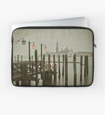 Misty Morning in Venice Laptop Sleeve