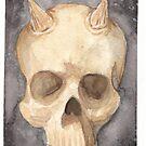 Demon Skull by webpixie