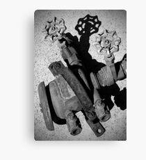 Disused Valve Canvas Print
