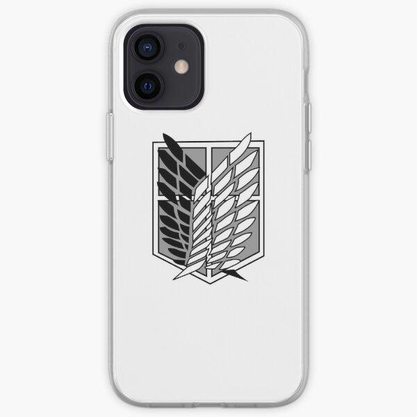 Attack on Titan logo Coque souple iPhone