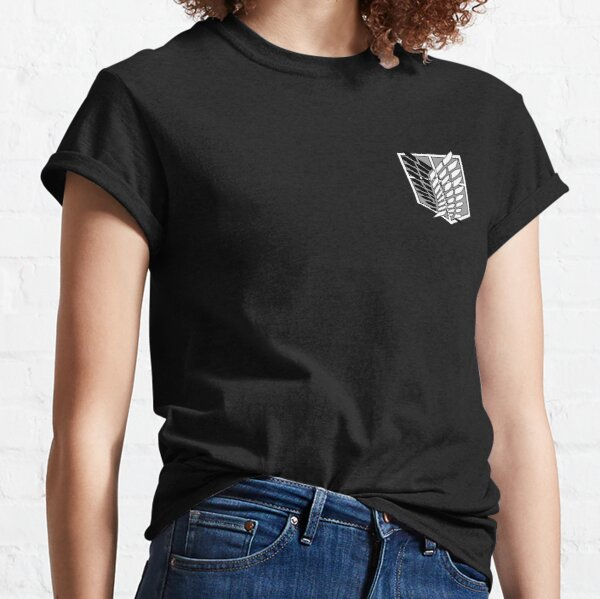 Attack on Titan logo T-shirt classique