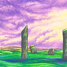 The Stenness Stones by AnyaPenfold
