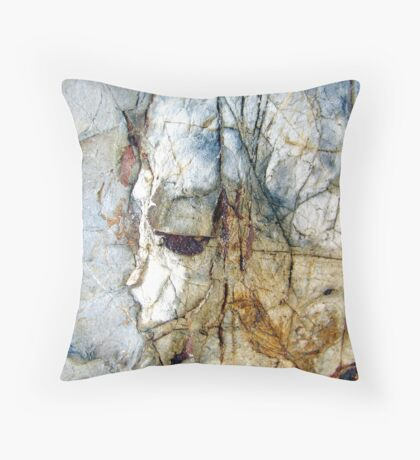 Portrait in the Rock Throw Pillow