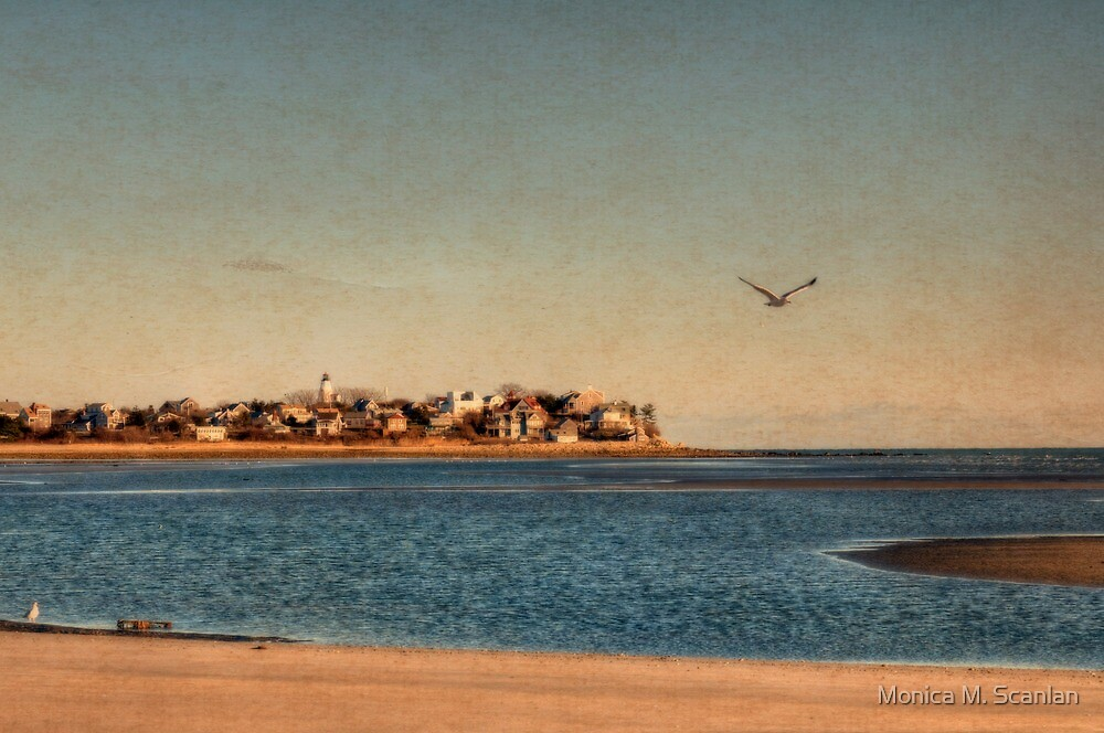 Finding Peace at the Ocean by Monica M. Scanlan
