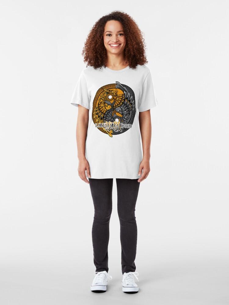 Alternative Ansicht von Zambada Rambozo - Musical Conversations Ep. 01 Cpver Artwork dark Slim Fit T-Shirt