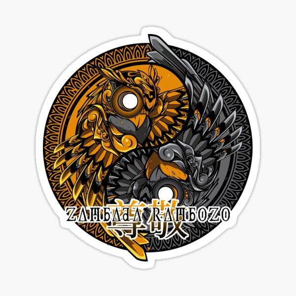 Zambada Rambozo - Musical Conversations Ep. 01 Cpver Artwork dark Sticker