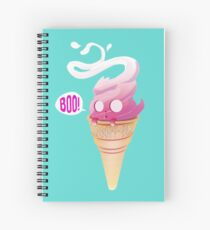 Spoopy Ice Cream  Spiral Notebook
