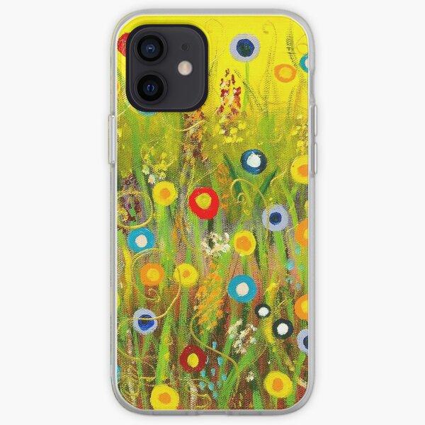 Happy Little Garden 1 iPhone Soft Case
