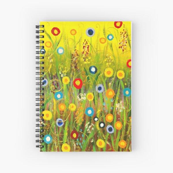 Happy Little Garden 1 Spiral Notebook