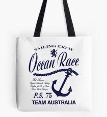 Ocean race sailing crew Tote Bag