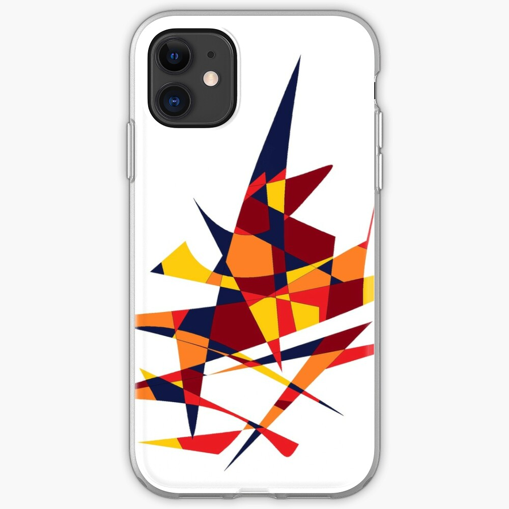 Wizard's Hat, Abstract (Designed by Just Stories) iPhone Case & Cover