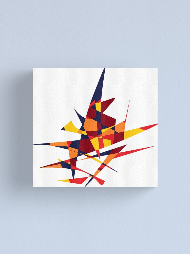 Alternate view of Wizard's Hat, Abstract (Designed by Just Stories) Canvas Print