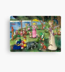 Sunday Afternoon on the Island of Nintendo Canvas Print