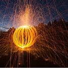 Painting with Light - Pumpkin by mia-scott