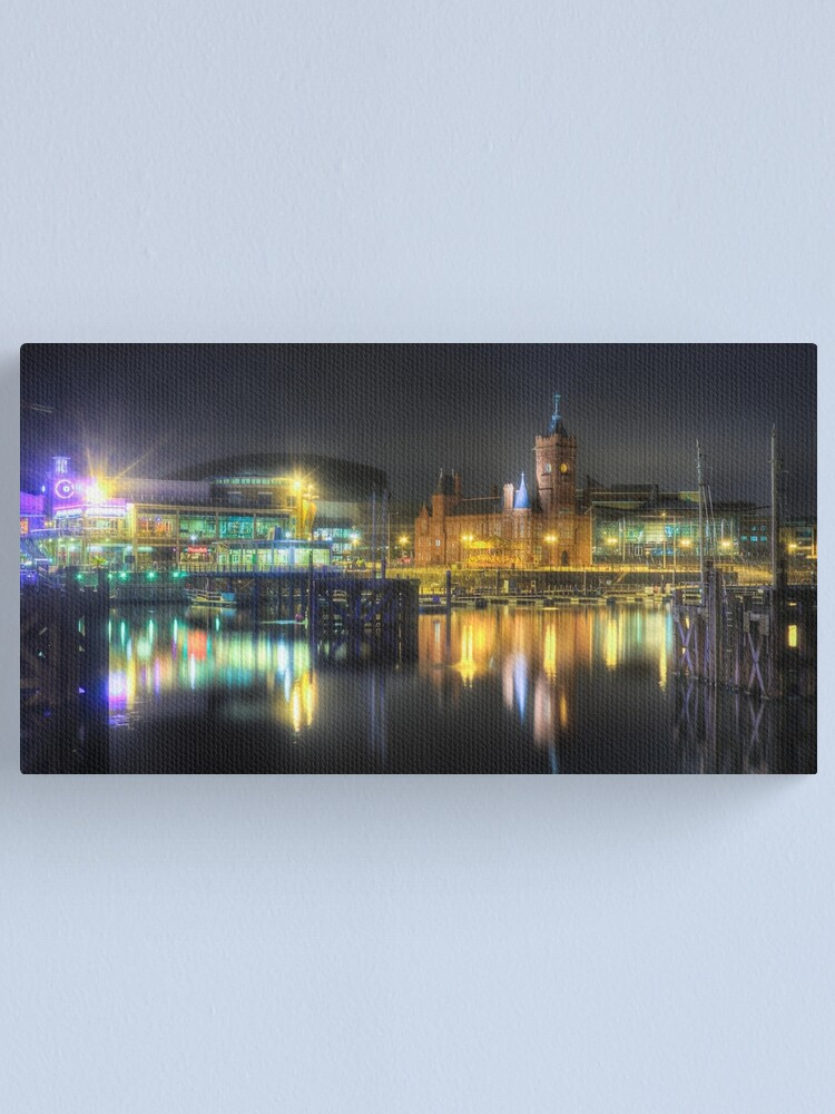 Alternate view of Cardiff Bay Canvas Print