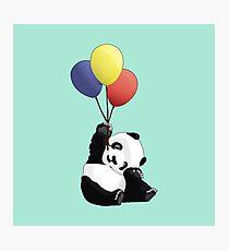 Panda's Happy Day Photographic Print