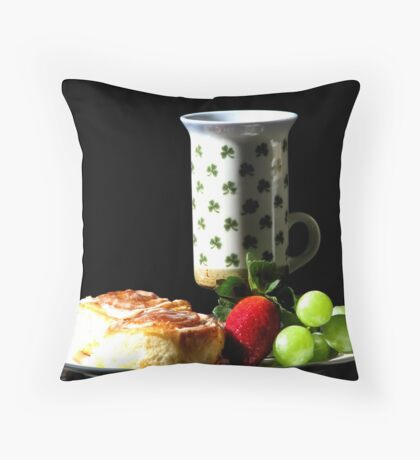 Top of the Morning! Throw Pillow