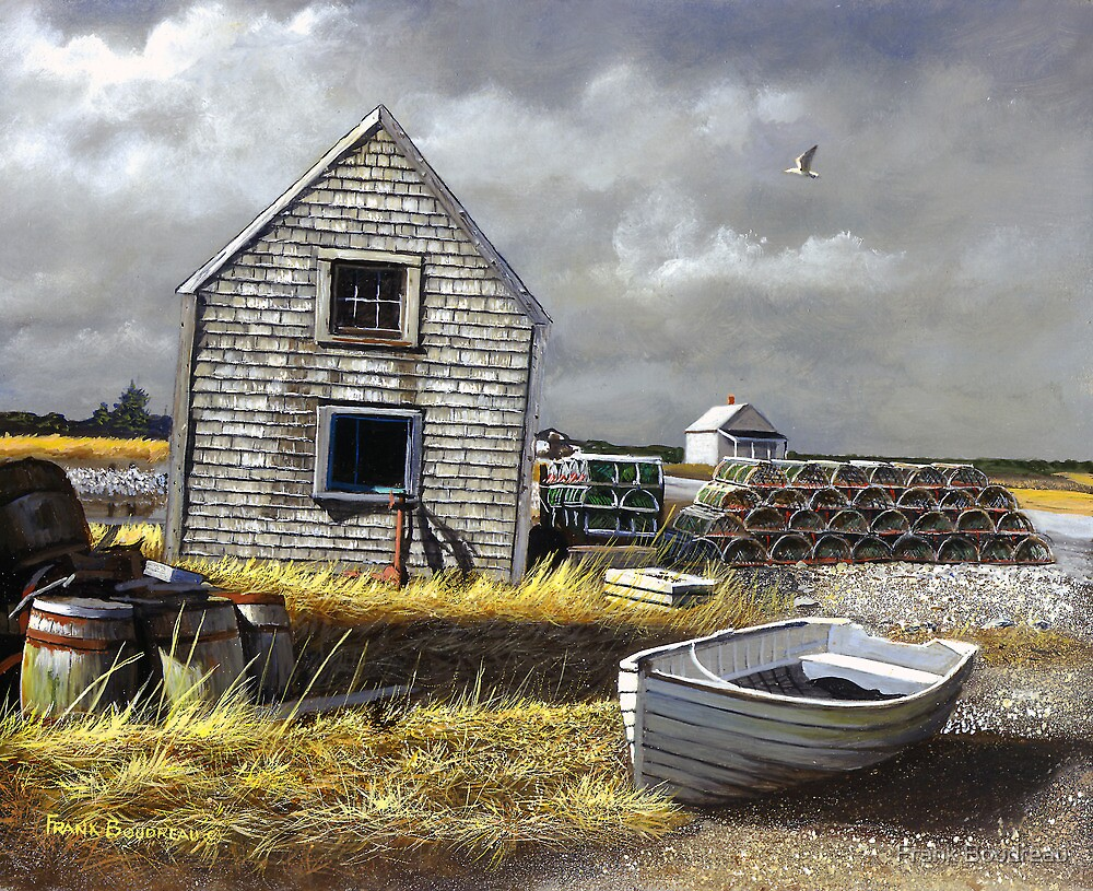 """Dark Skies Over Pembroke"" by Frank Boudreau"