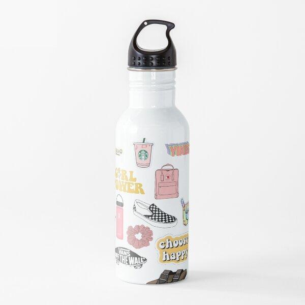 VSCO girls starter pack Water Bottle