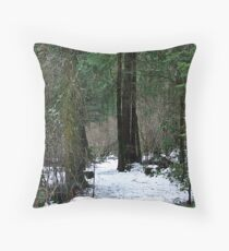 Woodland Dawn Throw Pillow