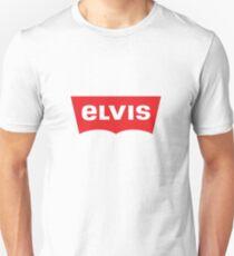 ELVIS - Levis Style Logo Unisex T-Shirt
