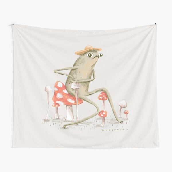Awkward Toad Tapestry